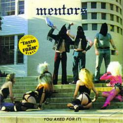 Mentors — You Axed For It LP — Yellow Vinyl